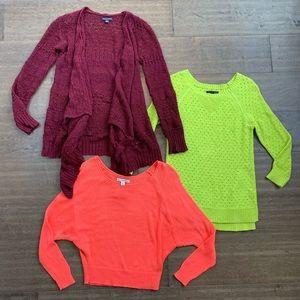 American Eagle Sweaters Bundle